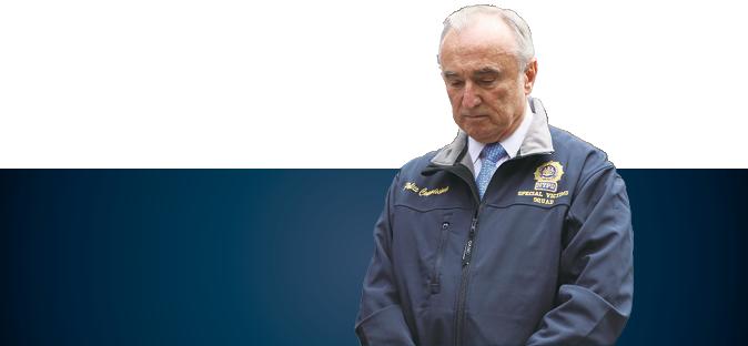 NYPD Commissioner William Bratton. (Allen Xie/Epoch Times)