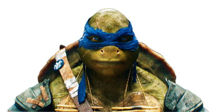 """Johnny Knoxville voices Leonardo in """"Teenage Mutant Ninja Turtles."""" (Paramount/Nickelodeon)"""