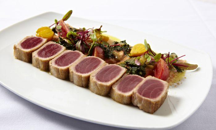 Seared Tuna. (Paul Johnson)