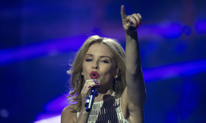 Kylie Minogue, in a file photo, will perform at the 2014 Commonwealth Games Closing Ceremony on Sunday night. (Getty Images)