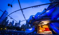 National Youth Orchestra of the United States of America Plays at Chicago's Millennium Park