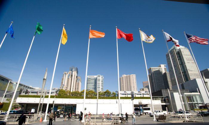 Moscone Center, San Francisco, California. (Shutterstock*)