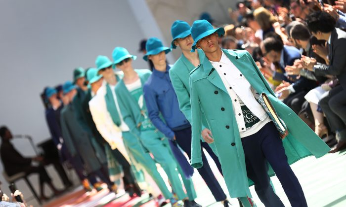 World War I uniform supplier Burberry's more recent incarnation. (Tim P. Whitby/Getty Images)
