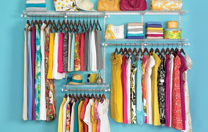 The perfect closet. (Rubbermaid Products, CC BY)