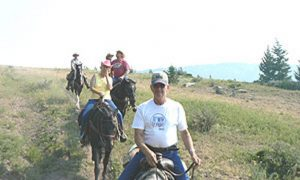 Riding in Montana's Mountains at the Triple J Ranch