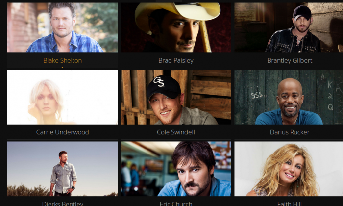 Some of the scheduled performers at the CMA Music Festival on Tuesday, August 5. (CMA Music Festival)