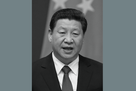 Xi Jinping in Beijing on July 9. Xi recently said that the struggle against corruption is a matter of life and death. (Feng Li/Getty Images)