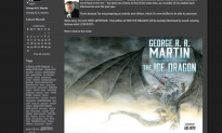 George R. R. Martin Releasing Children's Book 'The Ice Dragon' Set in Westeros
