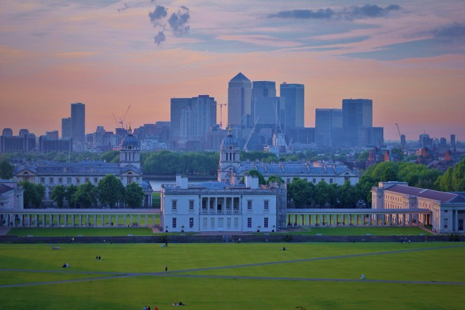Sunset over Greenwich, London (The Culture Map)