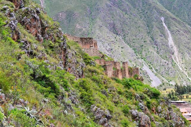 Inca Ruins, Ollantaytambo, Peru (Adventurous Travels)
