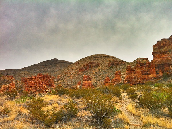 The Blue Creek Trail in Big Bend National Park (Traveling Ted)