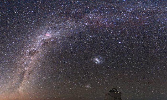 The Milky Way. (NASA, CC BY)