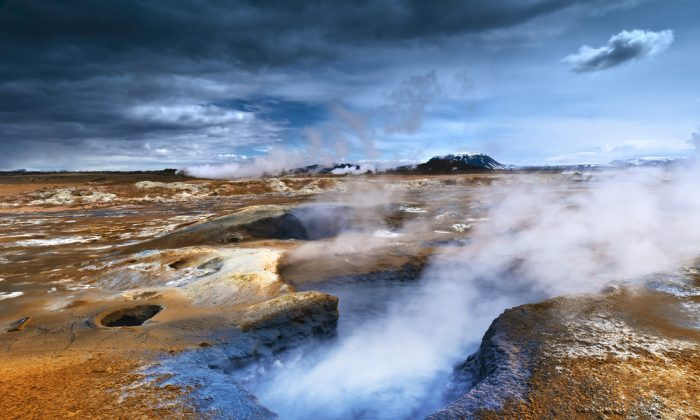 Volcanism in Iceland. (*Shutterstock)