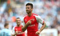 Olivier Giroud Goal Today: Watch Arsenal Striker Score Against Manchester City