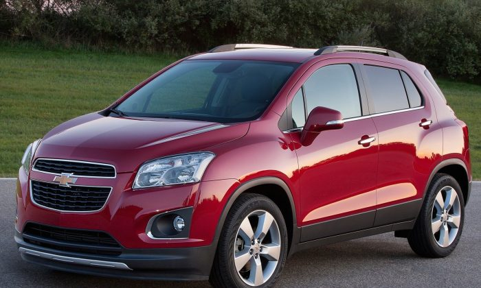 2014 Chevrolet Trax (Courtesy of NetCarShow.com)