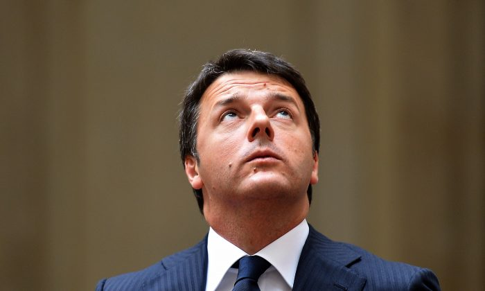 Italy's Prime Minister Matteo Renzi on July 29, 2014. (Alberto Pizzoli/AFP/Getty Images)