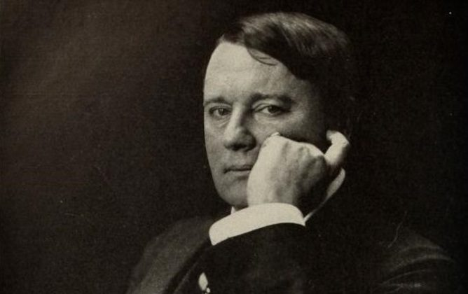 Lord Northcliffe, press baron of 1914. (Via The Coversation)