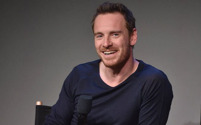 Actor Michael Fassbender attends 'Meet The Actor' at Apple Store Soho on August 7, 2014 in New York City. (Photo by Dimitrios Kambouris/Getty Images)
