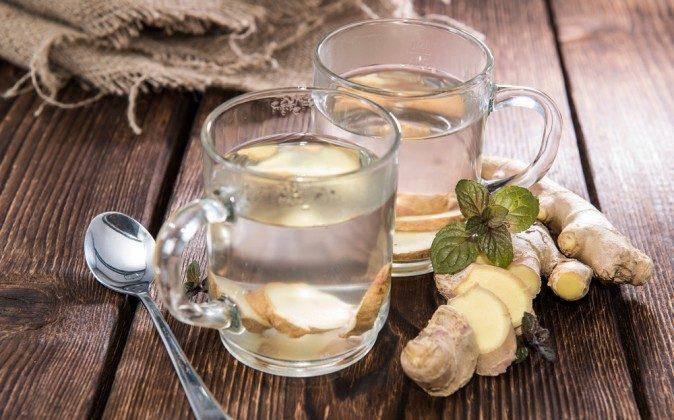 Ginger tea (Shutterstock*)