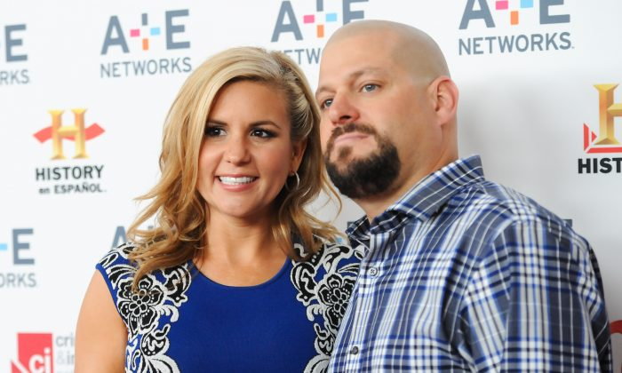 """""""Storage Wars"""" cast members Brandi Passante and Jarrod Schulz attend the A+E Networks 2013 Upfront on Wednesday, May 8, 2013 in New York. (Photo by Evan Agostini/Invision/AP)"""