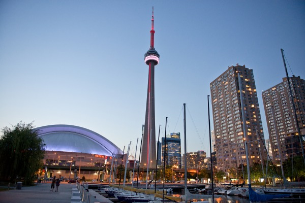 CN Tower and Toronto skyline. Photo courtesy Canada Keep Exploring.