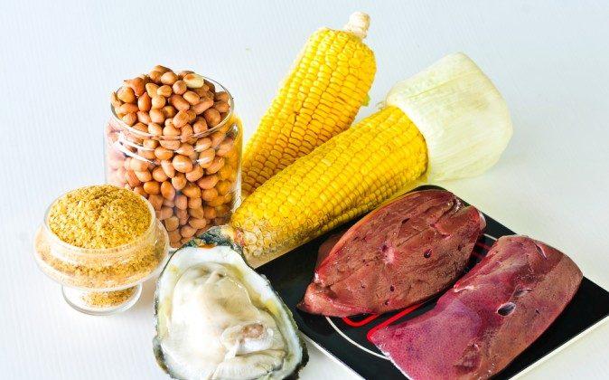 Foods with zinc. (Shutterstock*)