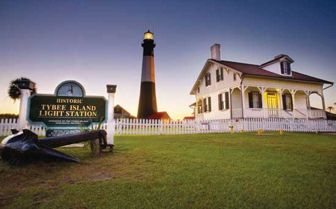 The Tybee Lighthouse is a popular local icon.  (Tybee Island Tourism Council, Go World Travel)