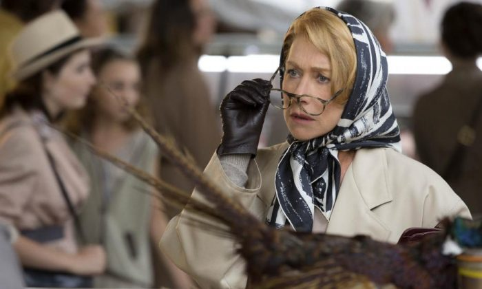 """Helen Mirren is Madame Mallory, the proprietor of a French restaurant in """"The Hundred-Foot Journey."""" (Walt Disney Pictures)"""