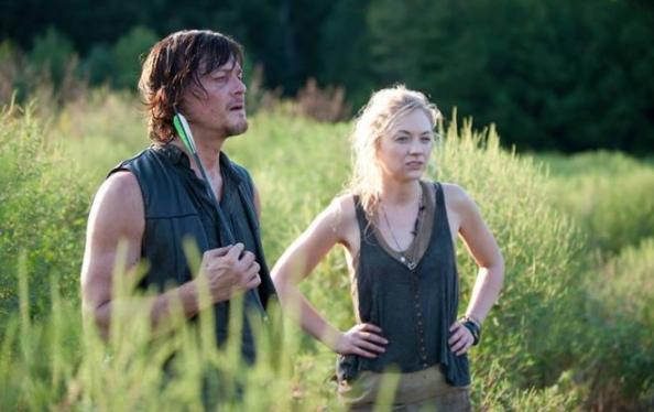 Daryl and Beth in season 4. (AMC)