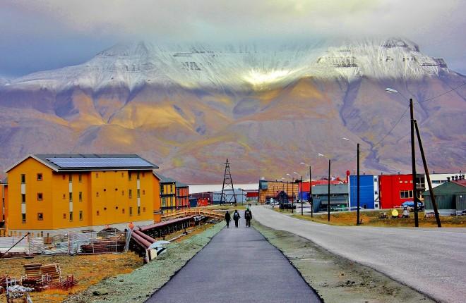 Longyearbyen town centre (The Culture Map)