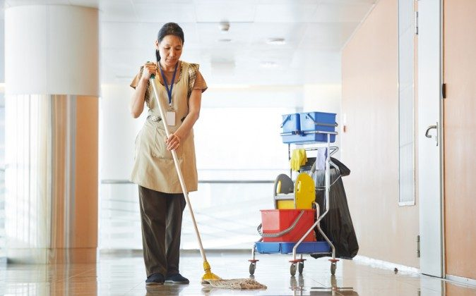 Quats are common ingredients in commercial-grade cleaning products.(Shutterstock*)