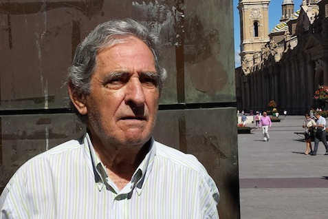 Zaragoza, Spain: Francisco Lazaro, 81, Retired: Things have changed, there used to be a relationship amongst neighbors. When New Year's Eve arrived the entire neighborhood would get together, now it's not like that anymore. Nowadays, the relationship I have with my neighbors is polite—we greet each other, and it's okay to not know anything personal about each other.