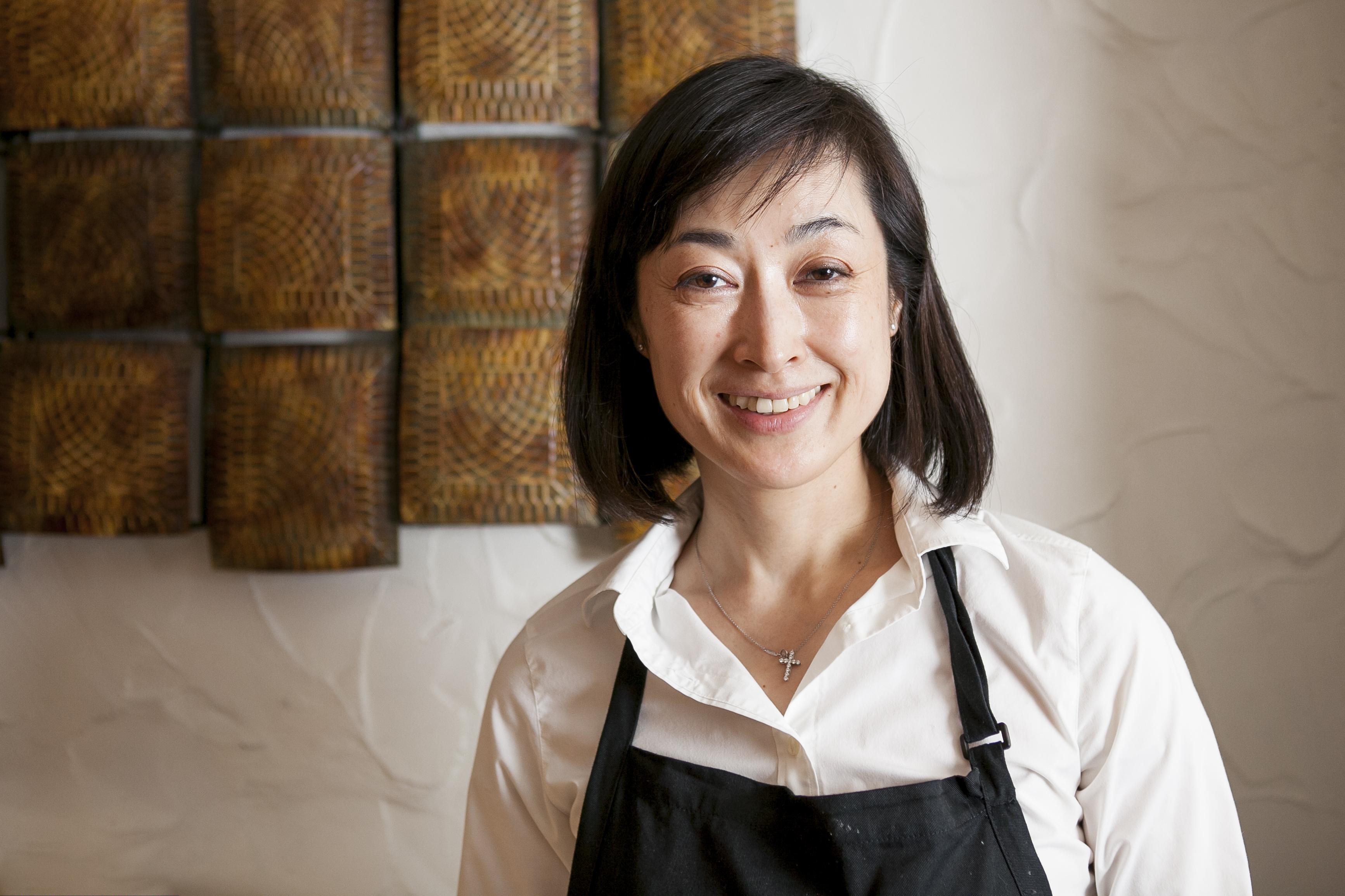 Momokawa owner and chef Mie Okuda.