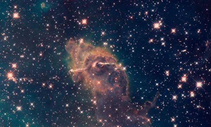 Dust that didn't become a star. (NASA/Hubble Telescope)