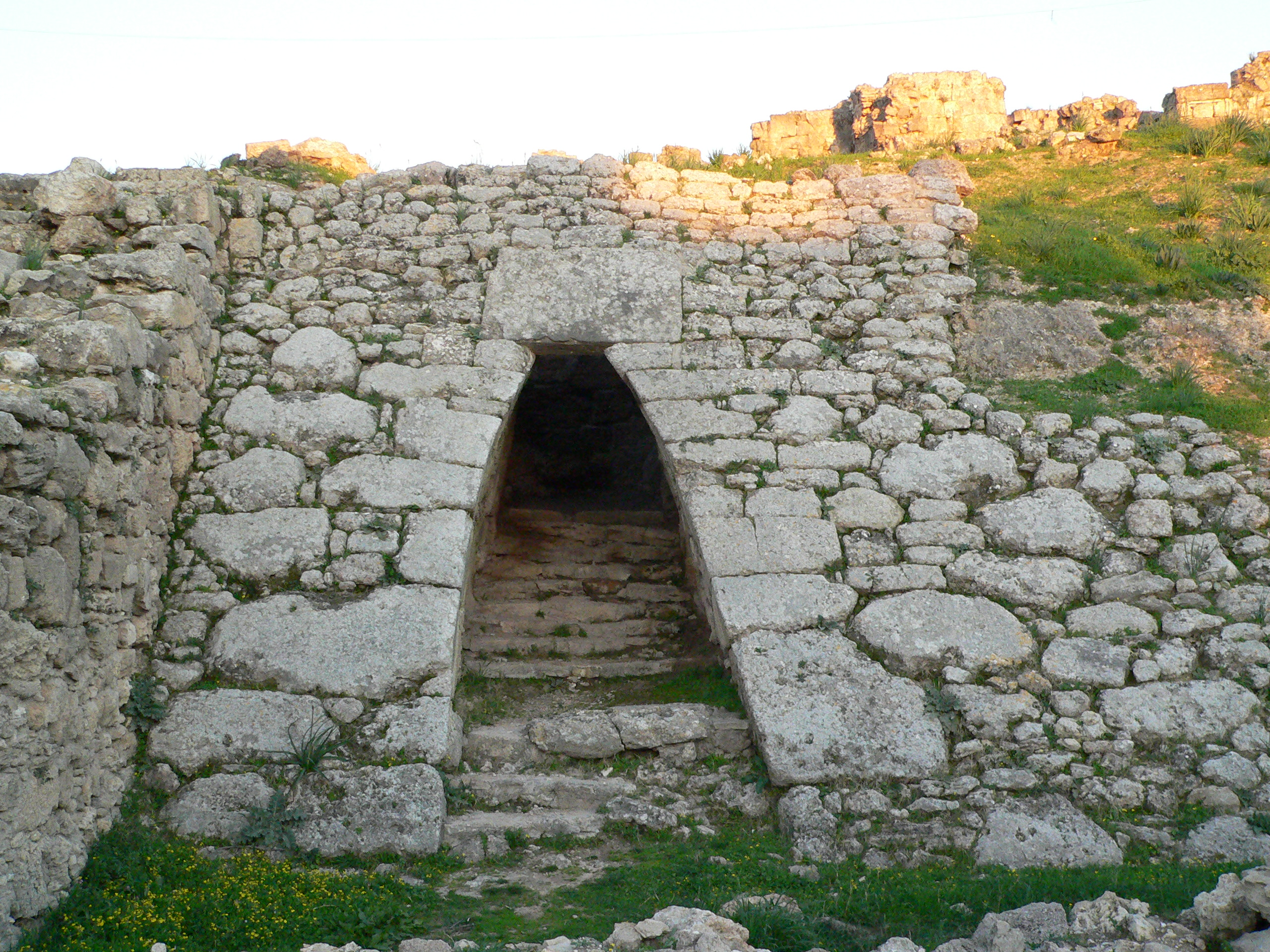 Ugarit Palace Entrance