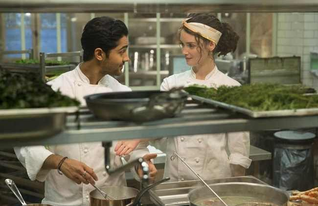 One Hundred Foot Journey: Manish Dayal and Charlotte LeBon as Hassan and Marguerite