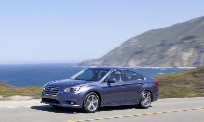2015 Subaru Legacy (Courtesy of Subaru)