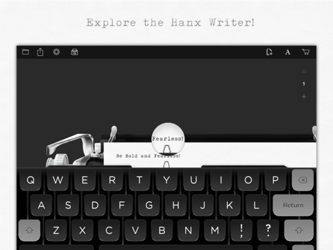 The Hanx Writer, a typewriter app from actor Tom Hanks, has proved to be a hit.