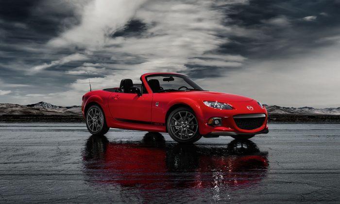 2014 Mazda MX-5 (Courtesy of Mazda)