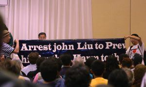 Protesters Allegedly Threatened After Demonstrating Against John Liu