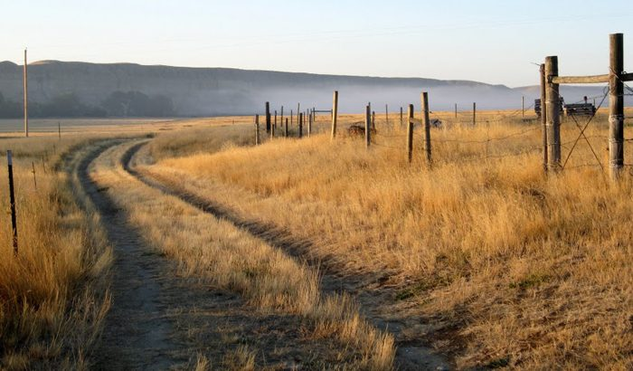 A country lane in Virgelle, Montana. (Laurie Gough, Go Nomad)
