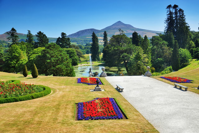 Italian Gardens and the Sugar Loaf Mountain in the background (Adventurous Travels)