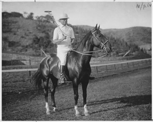 The accomplished Will Rogers was a movie, star, political commentator, pilot, and skilled  Polo Champion too. Image: Will Rogers Museum