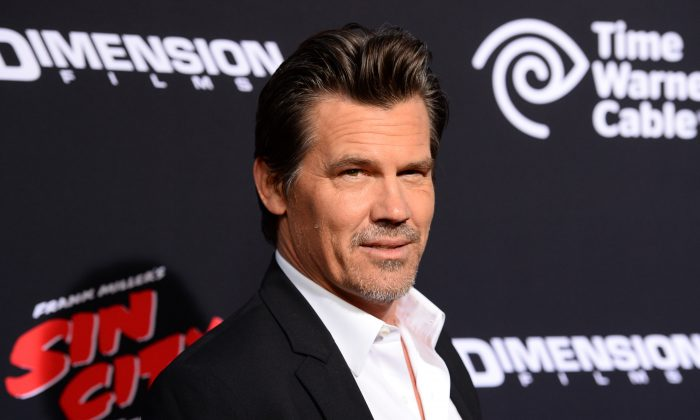 """Josh Brolin arrives at the Los Angeles premiere of """"Sin City: A Dame To Kill For"""" at the TCL Chinese Theatre on Tuesday, Aug. 19, 2014. (Photo by Jordan Strauss/Invision/AP)"""