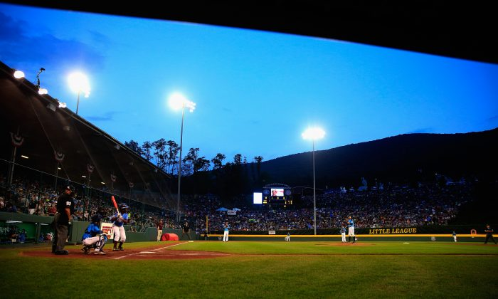 A general view from the first inning between Pennsylvania and Nevada during the United States division game at the Little League World Series tournament at Lamade Stadium on August 20, 2014 in South Williamsport, Pennsylvania. (Photo by Rob Carr/Getty Images)