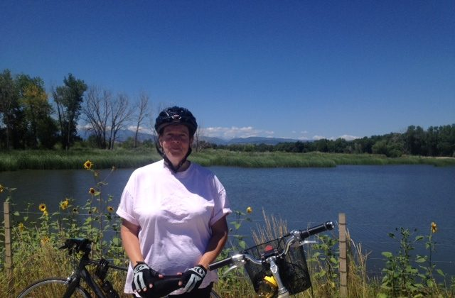 My 100-Mile Journey started by cycling around Golden Pond (photo by LivligaHome).