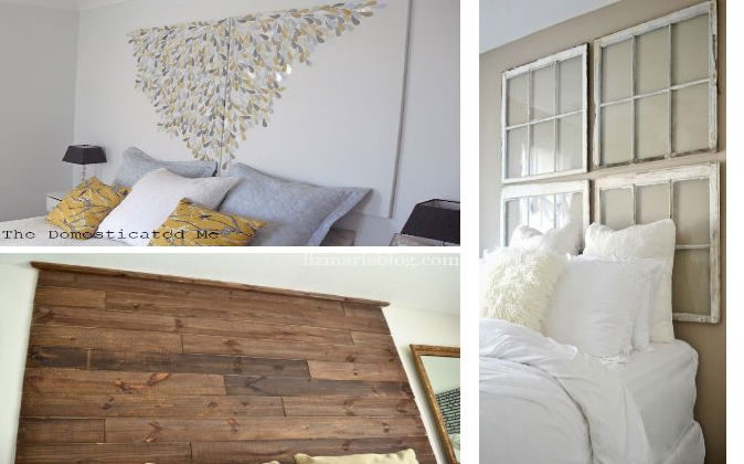 Revamp your bedroom easily with these creative DIY headboard designs.