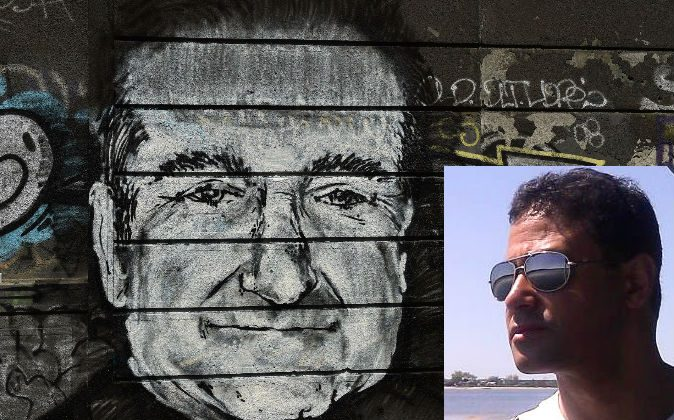 Right: A mural depicts actor Robin Williams in downtown Belgrade, Serbia on Aug. 13, 2014. (Andrej Isakovic/AFP/Getty Images) Left: Celebrity psychic Jesse Bravo. (Courtesy of Jesse Bravo)