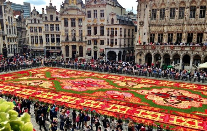 Flower Carpet in Brussels (The Culture Map)
