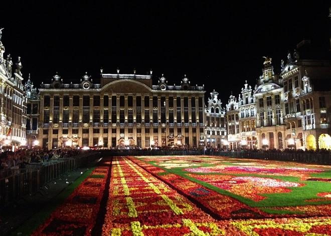 Flower carpet festival (The Culture Map)